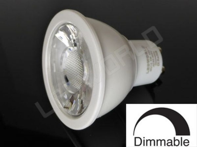 Ampoule LED GU10 - 5W - Dimmable - Blanc chaud