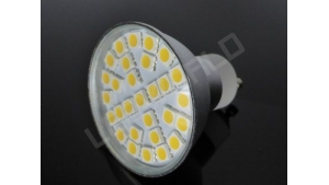 Ampoule LED GU10 - 29 leds - Blanc chaud