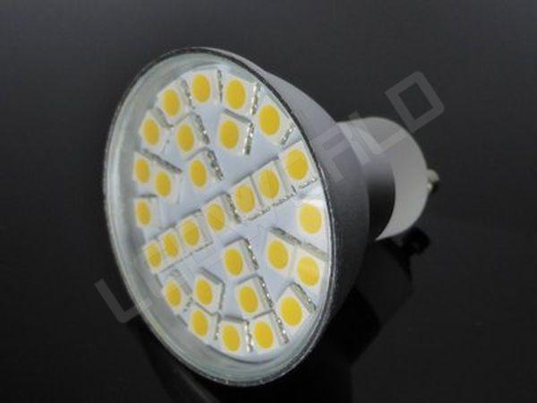 ampoule led gu10 29 leds blanc chaud. Black Bedroom Furniture Sets. Home Design Ideas