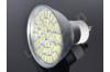 Ampoule LED GU10 - 27 leds - Dimmable - Blanc chaud