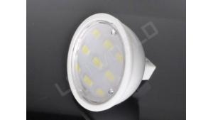 Ampoule LED MR16 - 9 leds - Dimmable - Blanc chaud