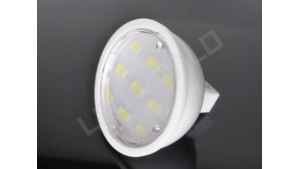 Ampoule LED MR16 - 9 leds - Dimmable - Blanc naturel