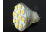 Ampoule LED MR11 - 12 leds - Blanc naturel -12v