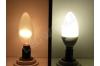 Ampoule LED E14 - Flamme - 4W - Blanc naturel -220v