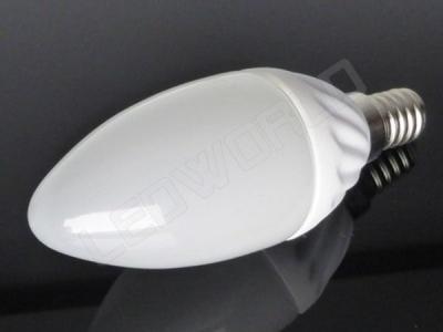 Ampoule LED E14 - Flamme - 4W - Blanc chaud -220v