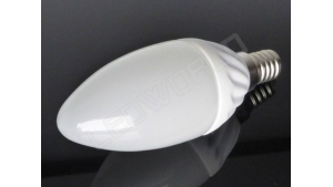 Ampoule LED E14 - Flamme - 4W - Blanc chaud