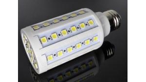 Ampoule LED E27 - 60 leds - Blanc chaud