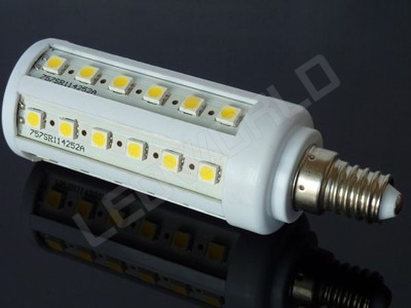 ampoule led e14 44 leds blanc chaud 220v. Black Bedroom Furniture Sets. Home Design Ideas