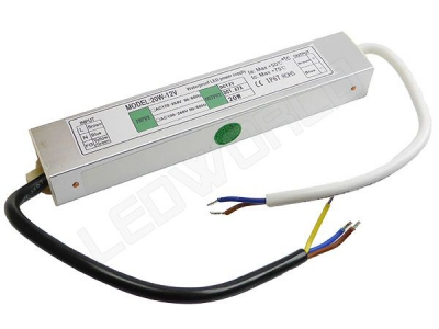 Alimentation Transformateur Convertisseur Led Etanche 20w 12V IP67