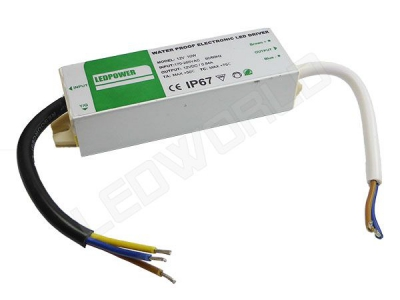Alimentation Transformateur Convertisseur Led Etanche 10w 12V IP67