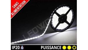 Ruban LED 2835 - 60 leds / m - 12v - Blanc Pur 6000K