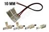 Connecteur ruban led 10mm avec câble