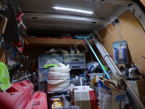 Reglette Led Plate Blanche 12v Camping Car Caravaning Sur Mesure