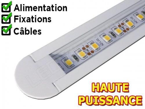 Rampe LED plan de travail reglette led cuisine profil led