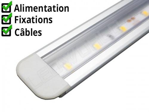 Réglette LED profil encastrable Aluminium