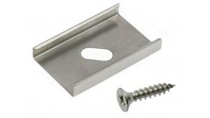 Clips de fixation pour profilé aluminium