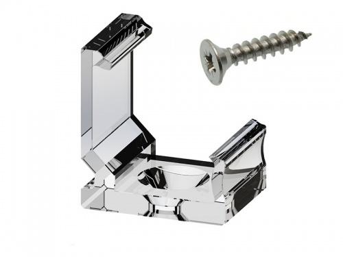 Clips de fixation pour profilé aluminium incliné 1616