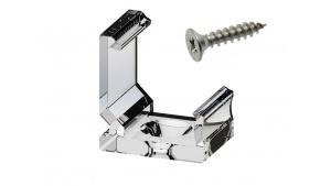 Clips de fixation pour profilé aluminium 45° 1616