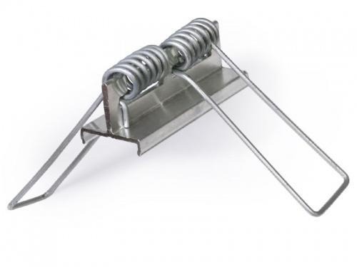 Clips de fixation à ressort pour profilé aluminium 208 247 2016