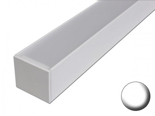 Linéaires led pour éclairage Véranda Pergola - Sur mesure - Aluminium - blanc
