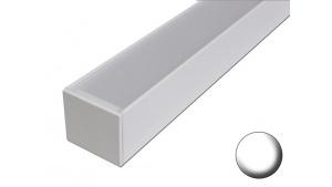 2 Linéaires led pour éclairage Véranda Pergola - Sur mesure - Aluminium - Blanc