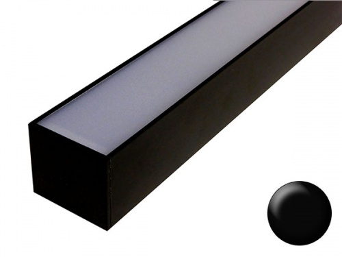 Lineaire Reglette Led Veranda Pergola Aluminium Noir