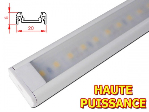 Rampe LED plan de travail reglette led cuisine