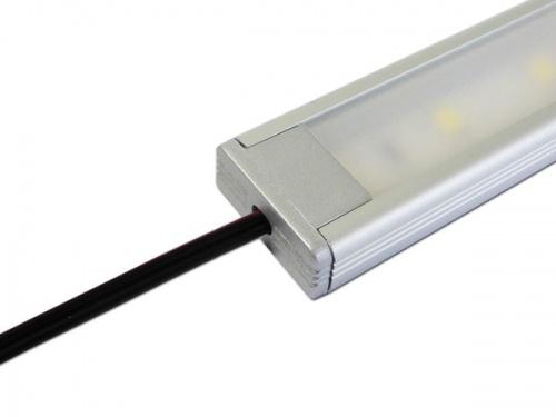 Reglette Led Plate Profile Aluminium 20x8mm Couleur Aluminium