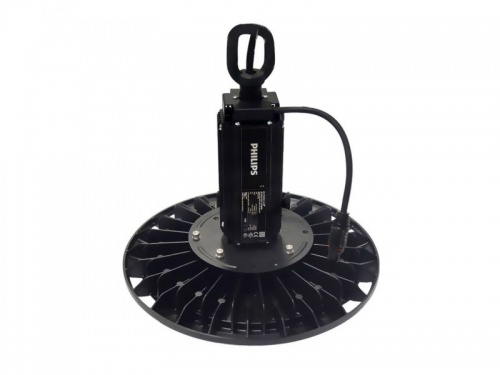 Suspension industrielle UFO LED 100W - Alimentation Philips