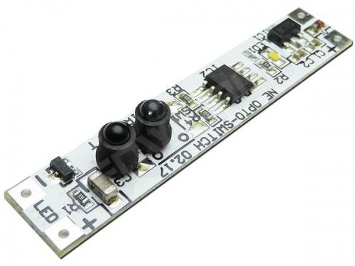 Interrupteur/Variateur pour profilé aluminium - Sans Contact Infrarouge