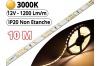 Ruban Led Pro Blanc Chaud 3000K -10 mètres-IP20