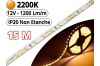 Ruban Led Pro Blanc Extra Chaud 2200K - 15 mètres-IP20