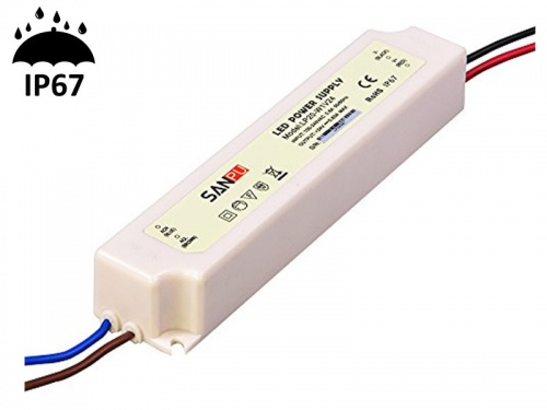 Alimentation Transformateur Etanche IP67 60 Watts 24V