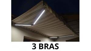 eclairage Led pour Store Banne - 3 Bras