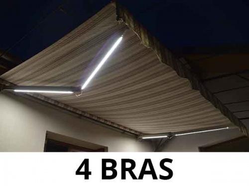 Eclairage Led pour Store Banne - 4 Bras