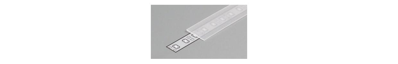 Diffuseur Capot Plexi pour profile aluminium ruban led