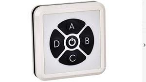 Interrupteur/variateur Radio Fréquence Mural pour profilé ruban LED