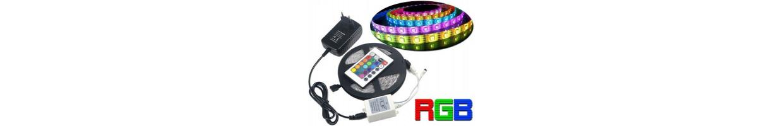 Ruban Led RGB (RVB) Multicolore