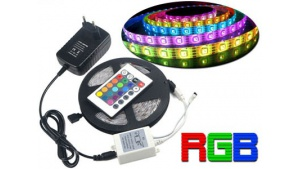 Ruban Led RGB (RVB) Multicolore