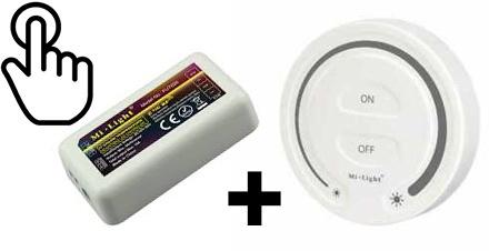 Mini Interrupteur/variateur Mural RF